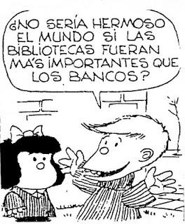 Mafalda y el Día Mundial del Libro 2014